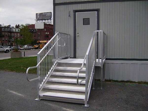 Ada Amp Osha Stair Requirements Ada Amp Osha Compliant Stairs