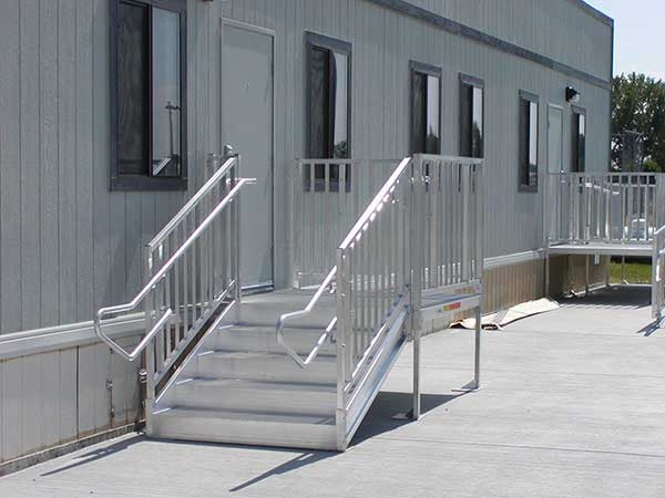 Ada osha stair requirements ada osha compliant stairs for Ada mobile homes
