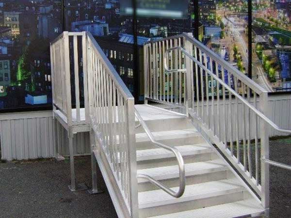 Ada Amp Osha Stair Requirements Ada Amp Osha Compliant Stairs