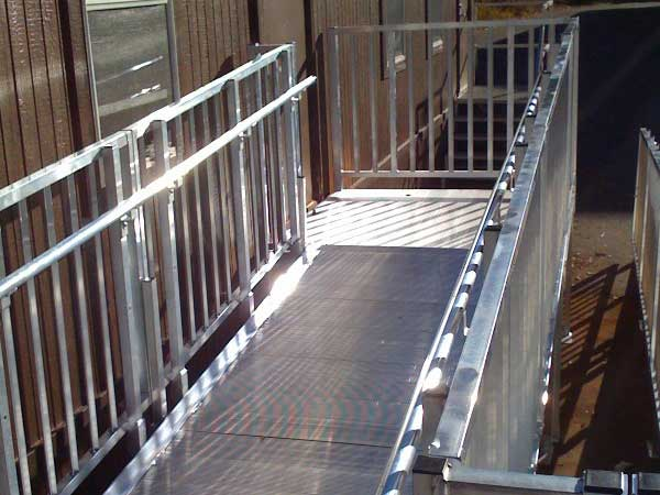 ADA Modular Wheelchair Ramp for business