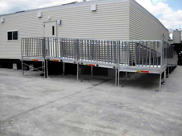 Titan ADA Modular Wheelchair Ramps for Trailers