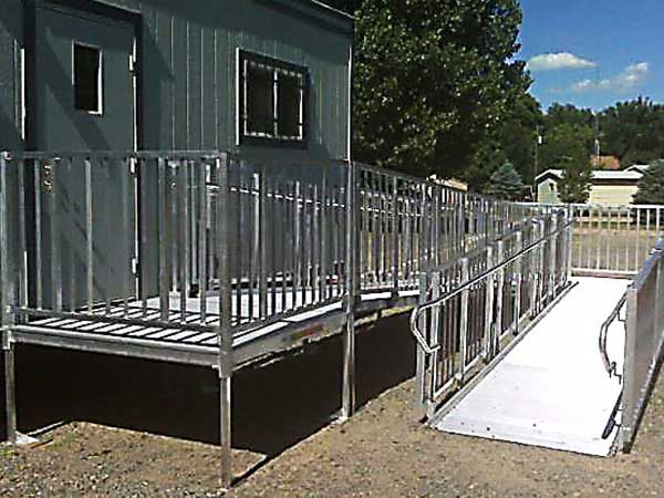 Portable wheelchair ramp reviews portable handicap ramp for Ada mobile homes