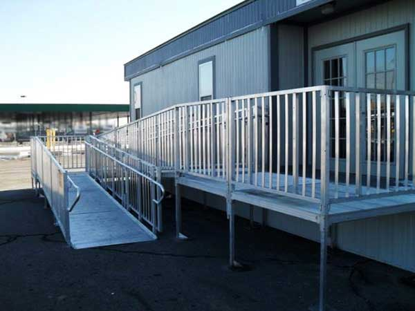 Titan Modular Wheelchair Ramp Handicap Ramp