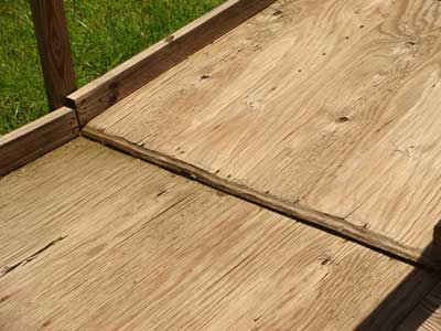 Wood Ramps Decay and come apart and look cheap
