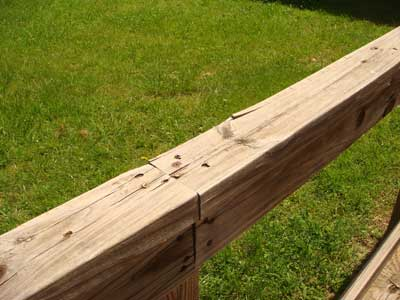 Wood Wheelchair Ramps Have Splinters